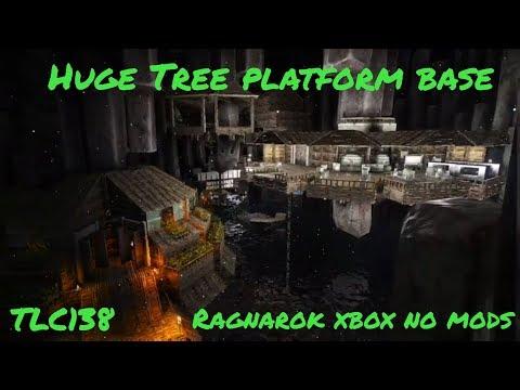 Massive Platform Base / Community Center Cave build Ragnarok Ark Survival Evolved