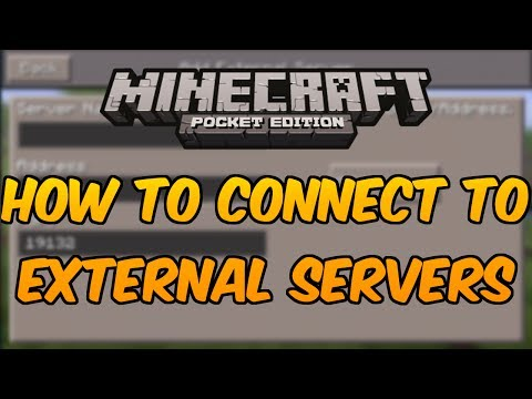 Minecraft PE 0.12.1 SERVERS - How to Connect to External IP Servers in Minecraft Pocket Edition