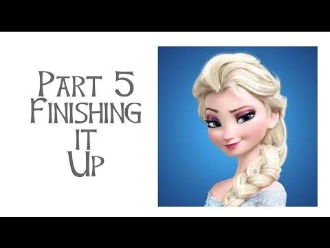 Disney's Frozen - Elsa Costume Tutorial Part 5