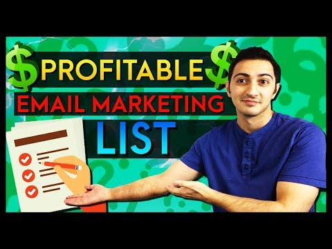 How to Build a FOREVER Profitable Email Marketing List in Affiliate Marketing