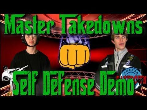 Master Takedowns Self Defense Demo (Parody)
