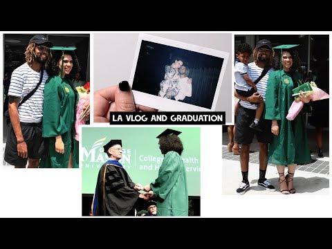 Graduation + L.A. Vlog