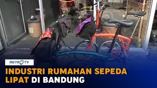 Industri Rumahan Sepeda Lipat di Bandung