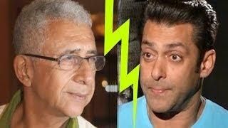 Naseeruddin Shah criticizes Salman Khan