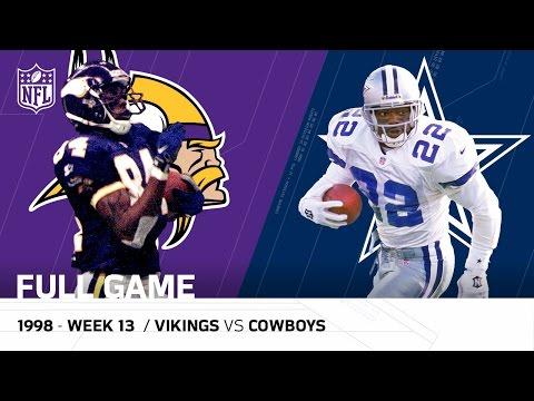 Randy Moss & Vikings Torch the Cowboys | Thanksgiving 1998 | NFL Full Game