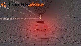 BeamNG drive - CAMARO VS TÚNEL.