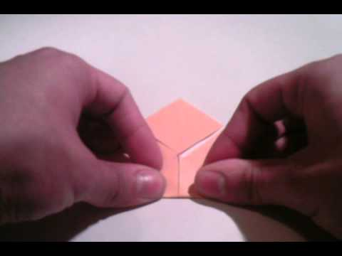Origami Tutorial Lesson 019 - Yakko-san (wrestler)
