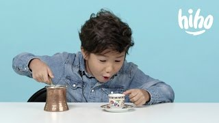 American Kids Try Episode 7 Coffee From Around The World