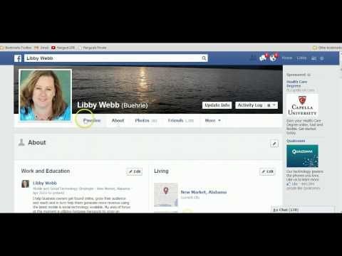How to Link your Facebook Personal Profile to your Fanpage Name