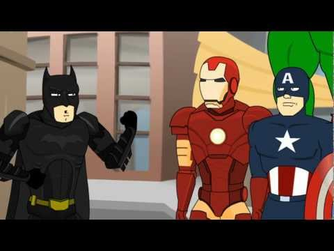 The Dark Knight Meets The Avengers