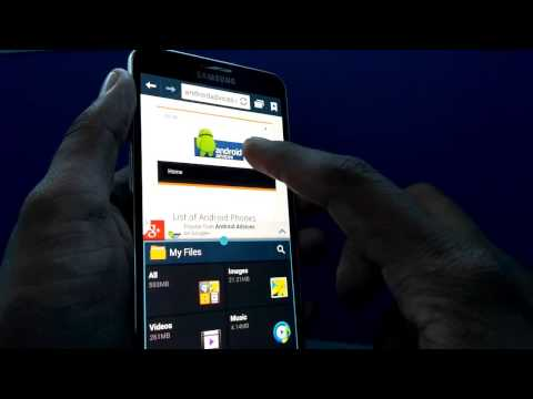 Multi Window On Samsung Galaxy Note 3 - How to Use Multiple Apps