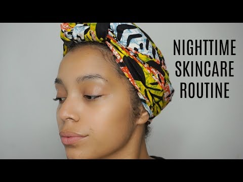 My Nighttime Skincare Routine | Actually Ashly