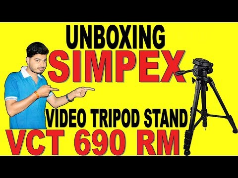 UNBOXING SIMPEX VCT 690 RM TRIPOD STAND | EVERY NEED