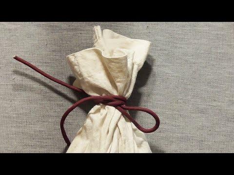 How To Tie A Bag Or Sack - How To Tie A Miller's Knot
