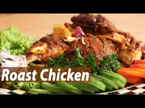 Roast chicken | Mallika Joseph Food Tube