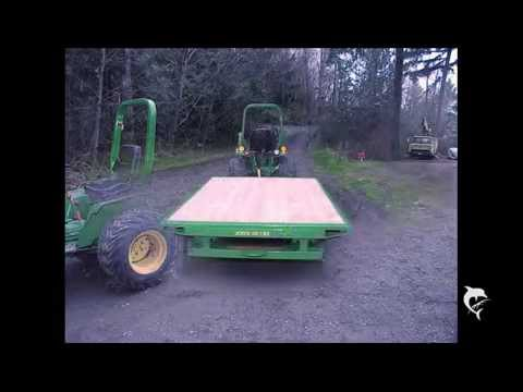 How to build a dump trailer, its easier than you think.