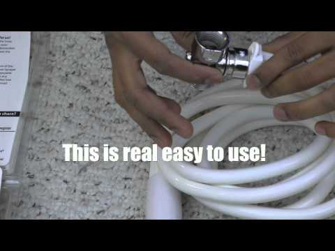 Rinse Ace 3-Way Pet Shower Sprayer Review & How To