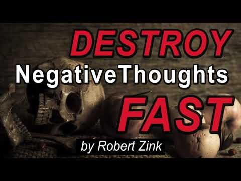 Destroy Negative Thoughts FAST - Create Positive Thinking with the Law of Attraction
