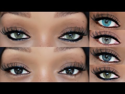 Parana Lentes Contacts | Solitica | Dark Brown Eyes | 5 Colors