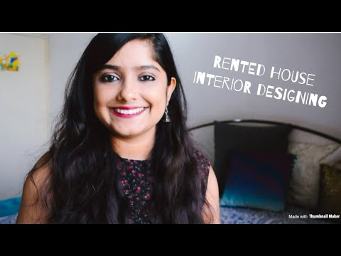 Rented house decor ideas || Affordable and easy || Interior Maata