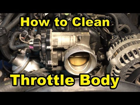 How to Clean Throttle Body - 2003-2006 Chevy/GMC 5.3L (Tahoe, Silverado, Yukon, Sierra)