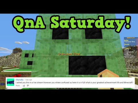 QnA -1.9 Xbox, My Biggest Achievement, Charged Creeper Story