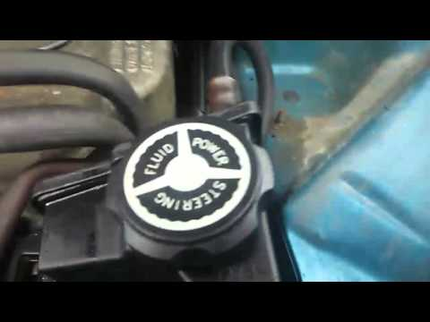 1993 Jeep Cherokee belt tensioner