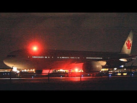 {TrueSound}™ Air Canada Boeing 777-300ER Taxi and Takeoff from Ft. Lauderdale