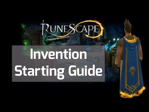 Runescape Invention Guide - A Short How-To