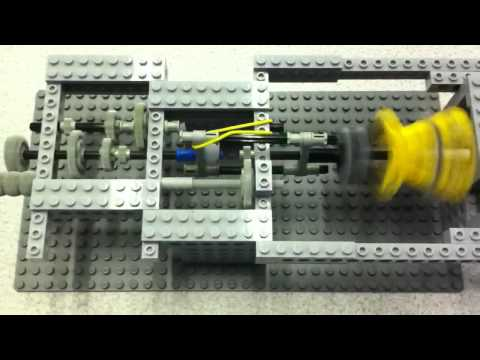 Lego automatic gearbox (3 speed)