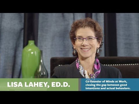 How to always finish what you start -- with Lisa Lahey