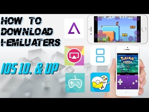 How To Download I-emulators - IOS 10 & Up/ GBA download tutorial - Free gameboy games for Iphone