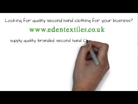 Used Clothing Wholesale, Bulk Branded Second Hand Clothes in London