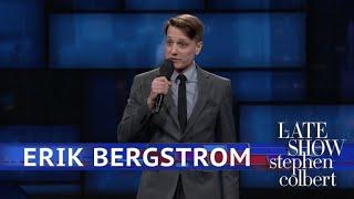 Erik Bergstrom Performs Standup