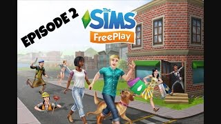 Sims free play episode 1 playing with George Clinton