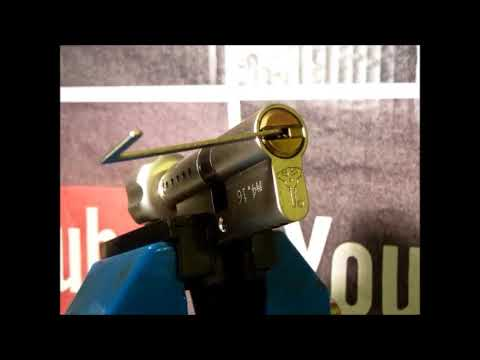 Single Pin Picking A Faulty Pin In Pin Mul-T-Lock From Work