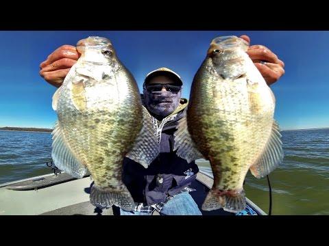 February Crappie Fishing in Kansas