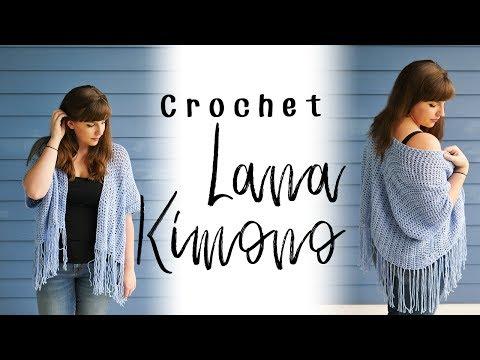 How to Crochet the Lana Kimono