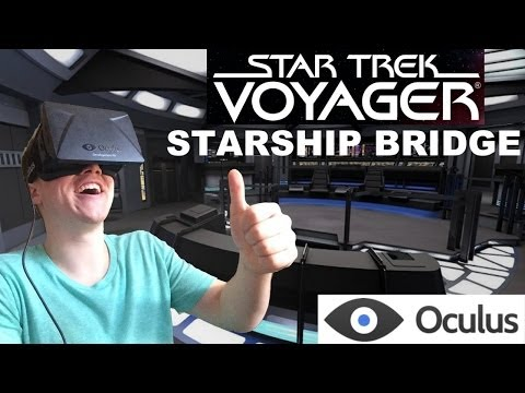 Command a Star Ship in Star Trek Bridge on the Oculus Rift!