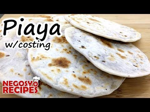 How to make piaya for food business