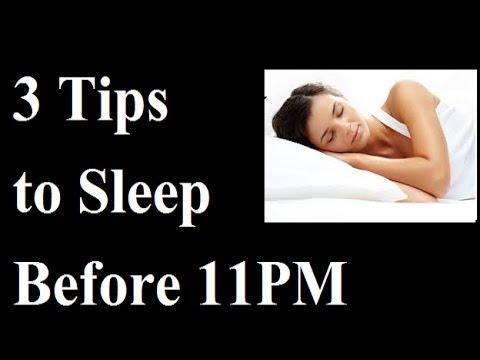 How to sleep early