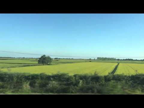 Train Ride from Torino to Milan