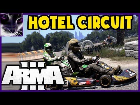 ArmA3: Go-Karting - GHOST HOTEL BEACH Track - Ep.3