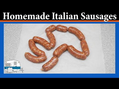 How to make Italian Sausages at home