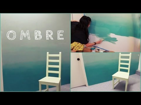 DIY: Ombre Wall | How to Paint & Tips!