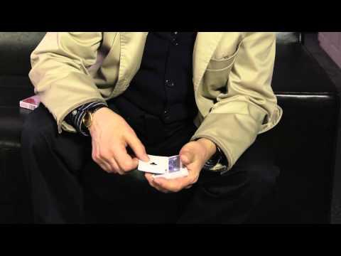 The Amazing Kreskin Shows His Hand