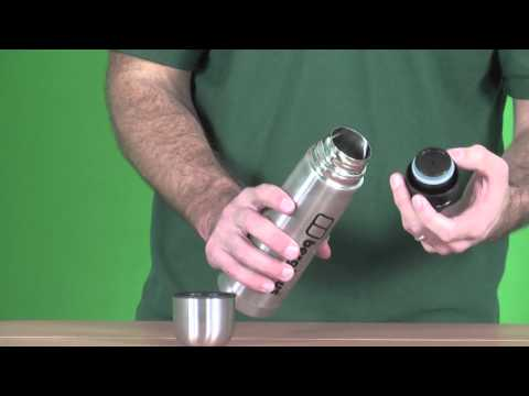 Berghaus Stainless Steel Flask - Silver - www.simplyhike.co.uk