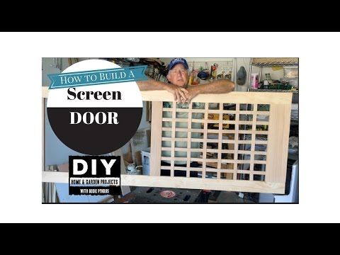 Screen Door Build
