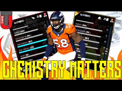 Chemistry Matters In MUT 17 | Madden 17 Ultimate Team News | Boost  & Overall Increase & more