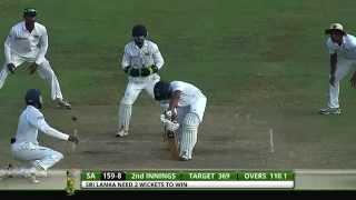 Sri Lanka v South Africa 2nd Test - Day 5: Highlights